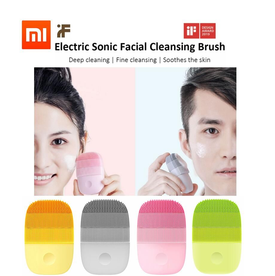 Xiaomi inFace Small Cleansing Instrument Deep Cleanse Sonic Beauty Facial Instrument Cleansing Face Skin Care Massager Gift