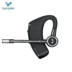Lymoc V8S Business Bluetooth Headset Wireless Earphone Car Bluetooth V4.1 Phone Handsfree MIC Music for iPhone Xiaomi Samsung