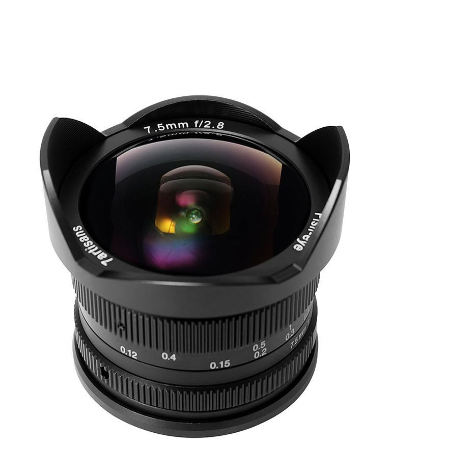 7artisans 7.5mm f2.8 Fisheye Lens APS-C Manual Fixed Lens For Sony E Mount A1 A7ii a6500 A6300 A6000 A5100