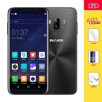 Bluboo S8 5.7 ''полный Дисплей 4 г LTE смартфон 3 ГБ Оперативная память 32 ГБ Встроенная память mtk6750t Octa core android 7.0 двойной сзади Камера мобильного телеф...