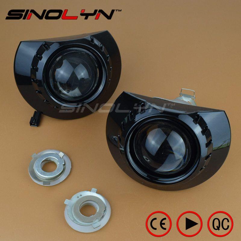 For BMW E46 Light ZKW M3 Wagon/ Sedan/ Coupe Headlight Mini 2.5 MH1 Black HID Bi xenon Lens Projector Tuning Headlamp H1 H7 DIY