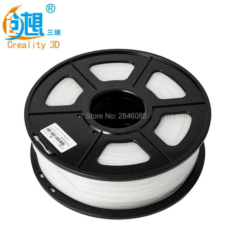Cheap CREALITY 3D 3D PLA Printer Filament 1.75mm 1kg/Roll 2.2lb Spool with CE Certification for 3D Printer