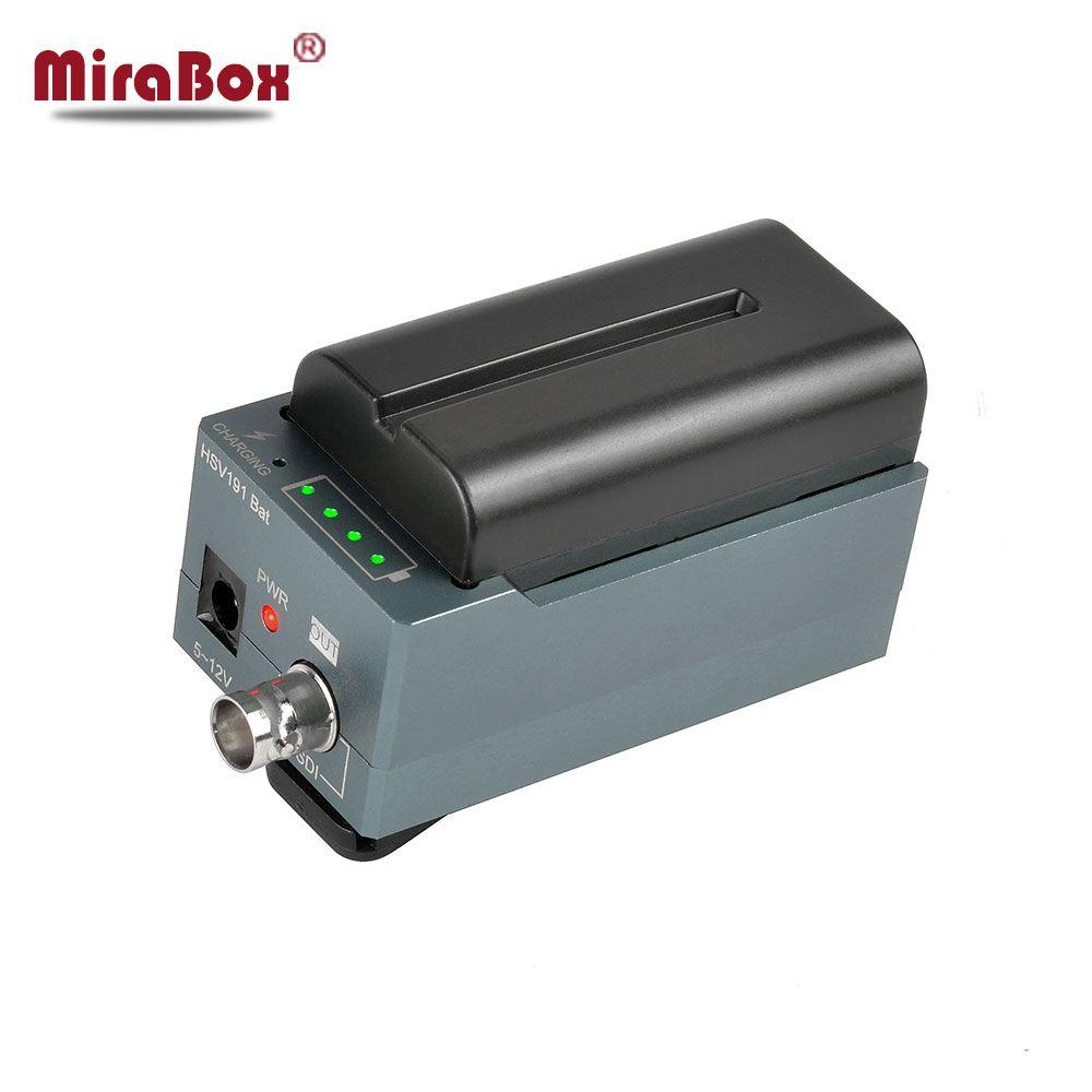 MiraBox Design Battery Converter HDMI to SDI Adapter SD/HD-SDI/3G-SDI Multimedia 1080p HD Video Converter Portable Mini Size