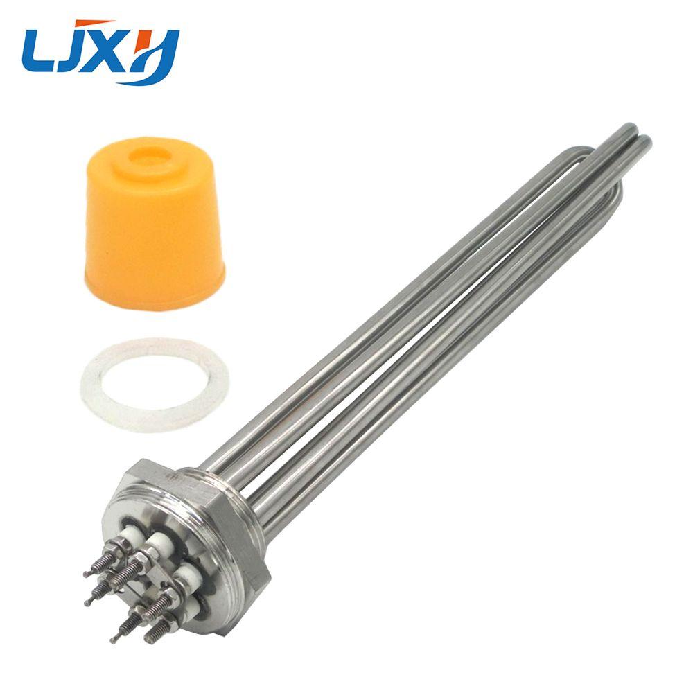 LJXH DN32 élément chauffant électrique Immersion 220 V/380 V chauffage 304 acier inoxydable 1.2 chauffe-eau de chaudière
