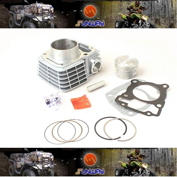 New 175CC 62MM Big Bore Kit for HONDA CBF125 Motorcycle Necessary modification, Free Shipping by epacket