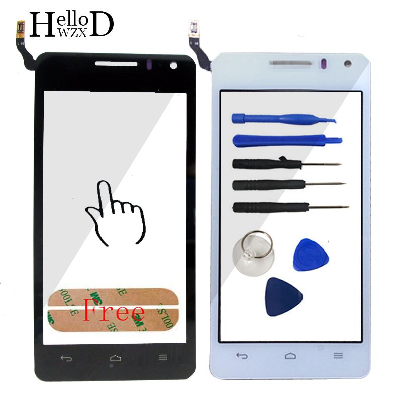 Factory Price Touch Screen Glass Digitizer Panel For Huawei G600 U8950 U8950D Lens Sensor Touchscreen Front Glass Adhesive Tools