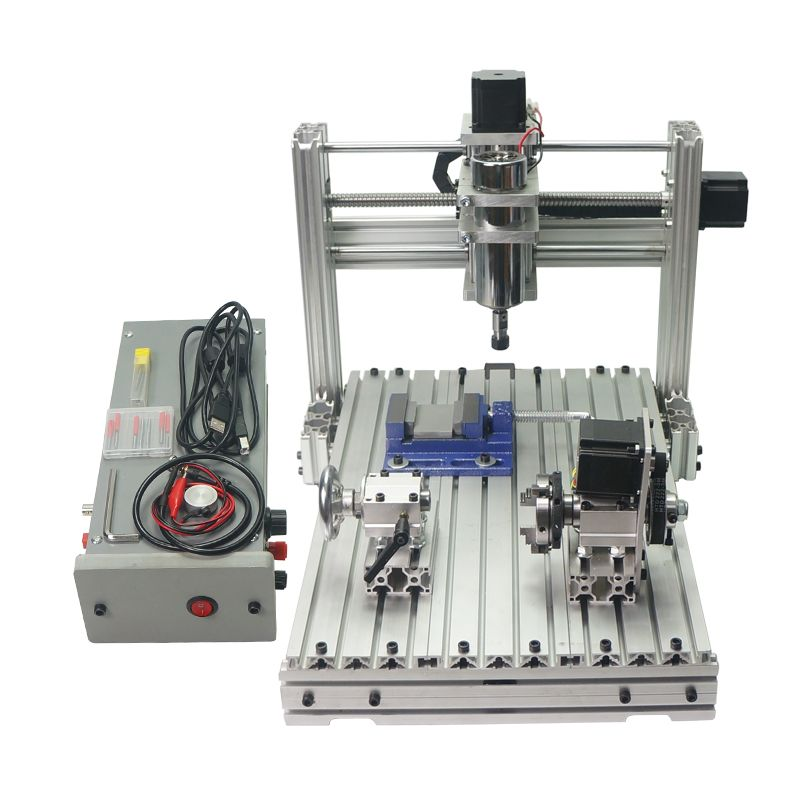 wood router DIY CNC 3040 4axis Engraving Machine with USB port