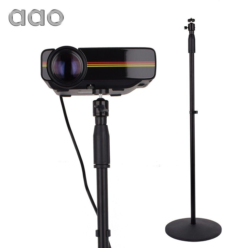 AAO 77-165 cm Projektor Boden Stehen Pan Tilt Stehen Verstellbare Höhe Halterung für XGIMI H1 H2 DLP Projektor YG400 C80 YG500 S1