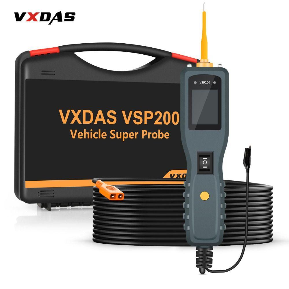 VXDAS Batterie De Voiture Testeur/Analyseur OBD2 12 V-30 V Véhicule/Auto Outil De Diagnostic Automobile Batterie/ circuit/Système Électrique Sonde