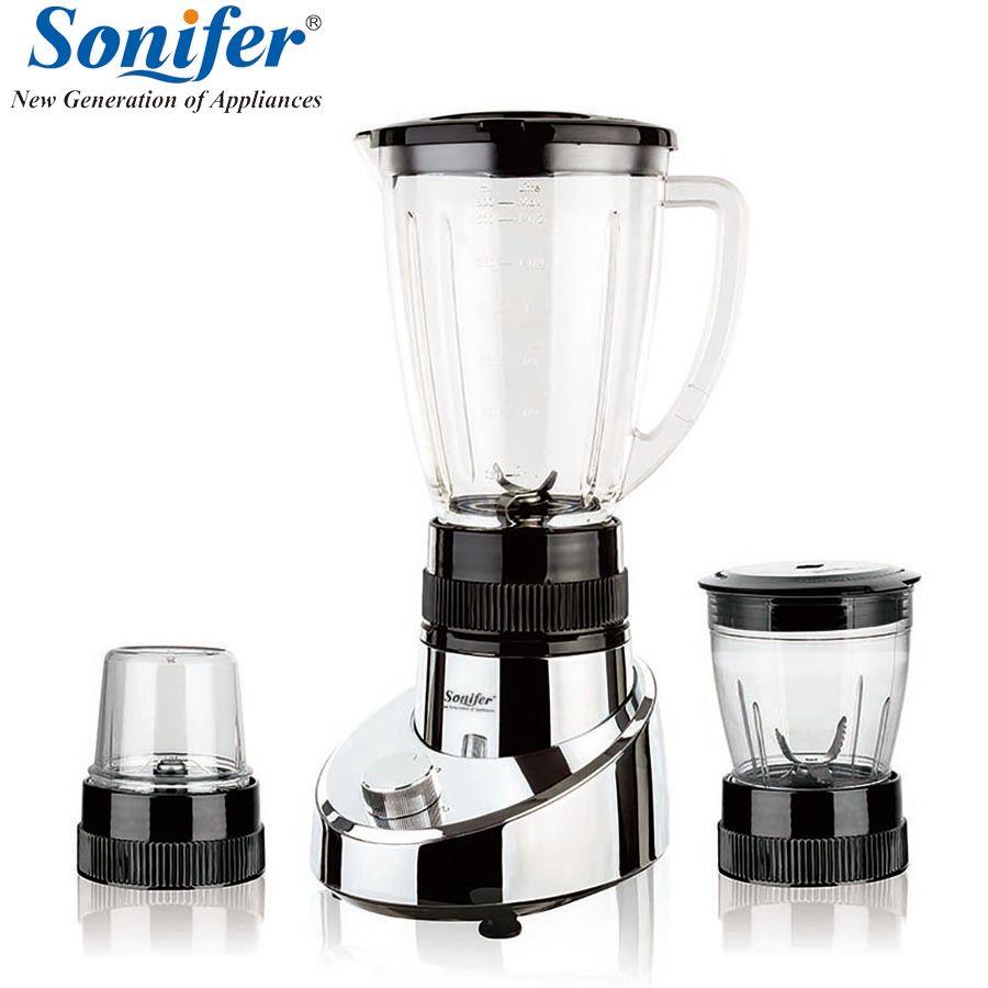 3 in 1 Multifunction electric food blender mixer kitchen standing blender vegetable Meat Grinder Sonifer