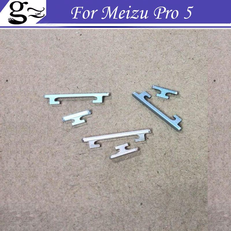 For Meizu Pro 5 Side Power ON OFF Button and Volume Key Button Switch Free Shipping;2SETS/LOT