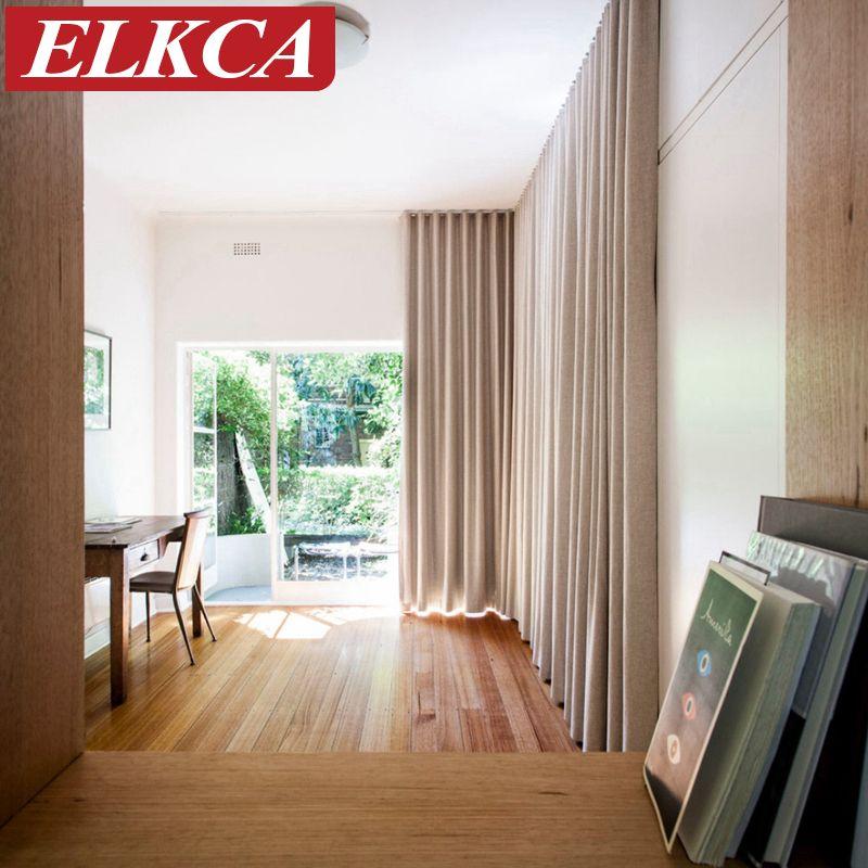 Япония сплошной цвет белье чувство плотные шторы для гостиной шторы окна гостиной-шторы для спальни-красивая на заказ