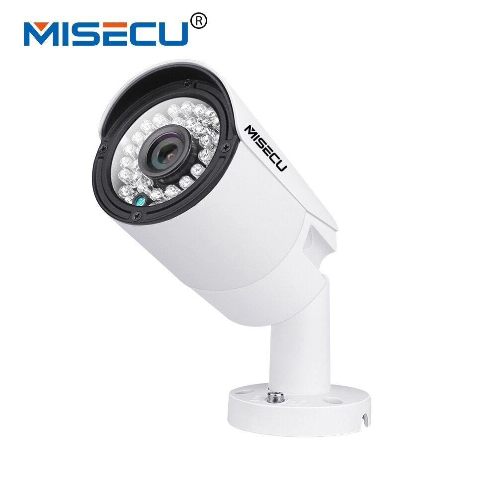 MISECU H.265 IP POE Security Camera Outdoor Waterproof Video Surveillance Camera Motion Dectection Onvif FTP Camera 5MP 3MP 2MP
