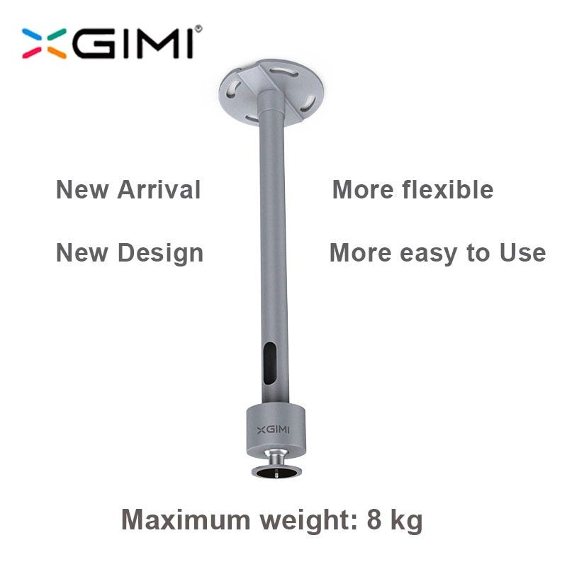 XGIMI Projector Accessories Hanger Ceiling Wall Mount with Height Adjustable for XGIMI H2 H1 CC Aurora/Z4 Aurora/ XGIMI Z3 / Z6