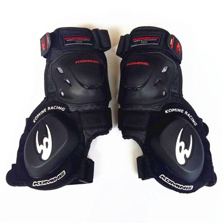 Komine Professional Motorcycle Knee Pad Protective Road Racing Dedicated Curved Grinding Block Slider Racing Plus bend Knee pad1