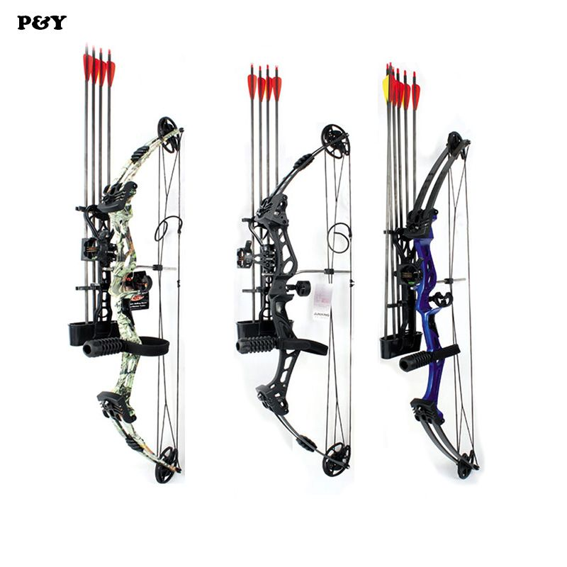 Junxing Compound Bow for Hunting Archery bow Right Hand 50-60 lbs Draw Weight Outdoor Shooting Athletics Bows Arrow Set