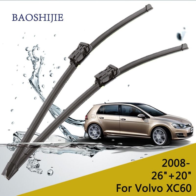 Wiper blades for Volvo XC60 (from 2008 onwards) 26