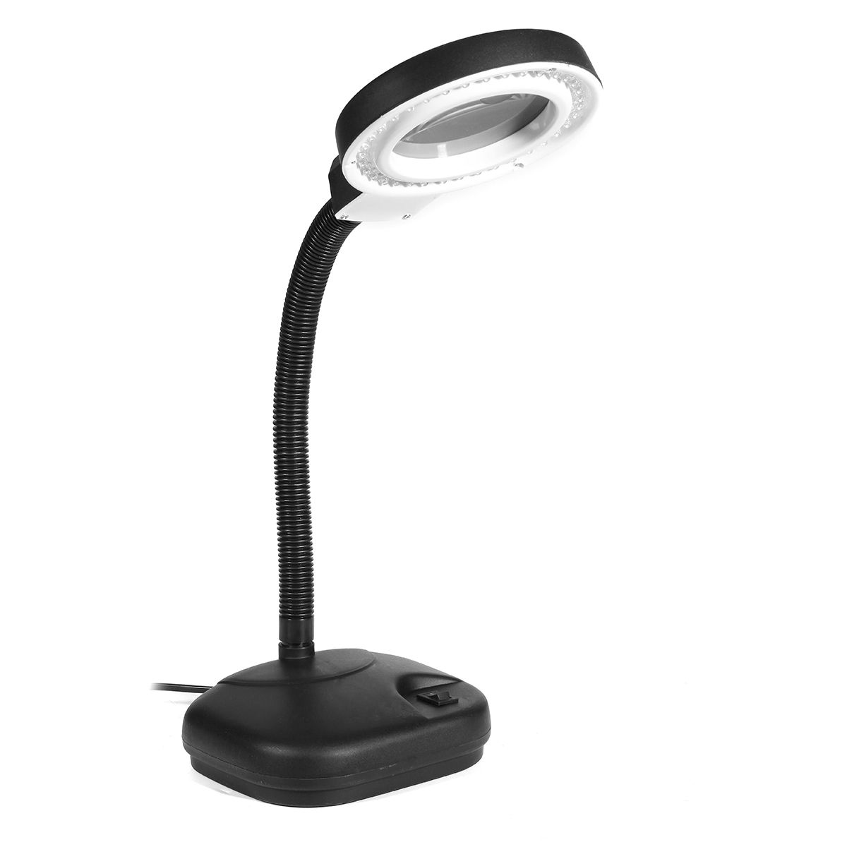 Multi-function 40 LED Desktop Magnifying Lamp 5X 10X Magnifier LED Desk Light Daylight Craft Glass Table Lamp