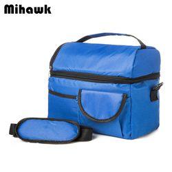 Mihawk 2 слоя сумка для пикника термальная коробка для пикника еда вместительная сумка для хранения товар из оптовой партии аксессуар Поставка...