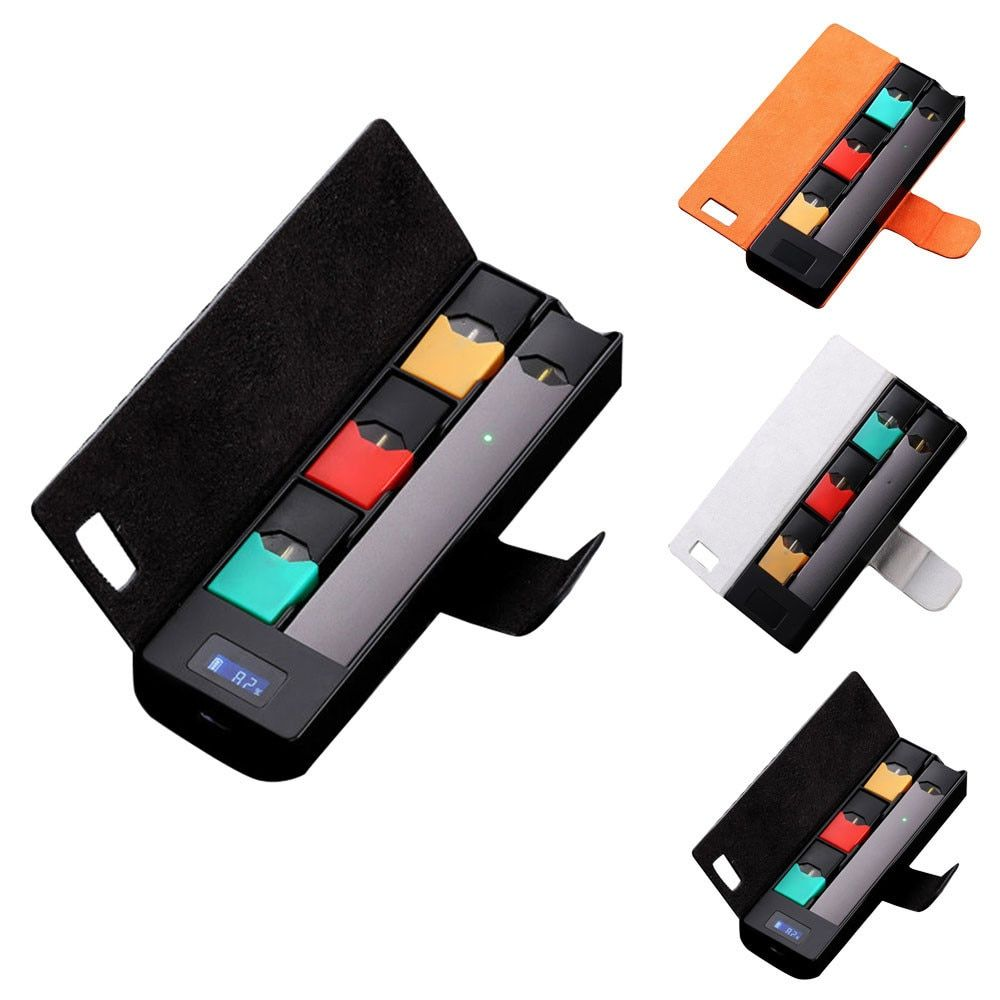 Universal compatible Portable Charger Charging Case Pods Holder W LCD Charging Indicator For JUUL#810