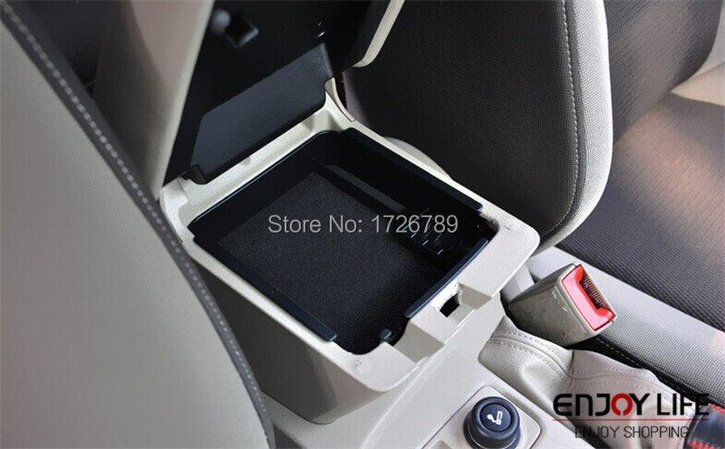 Boîte accoudoir Central Boîte De Rangement Center Secondaire Contenant des Gants Rangement Rangement Pour Ford Focus MK3 3rd gen 2012 2013 2014