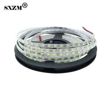 SXZM 2835 DC12V Non-waterproof IP20 led strip 120Leds/M 5mm Wide 5Meter led tape light indoor decoration White/Warm White/R/G/B