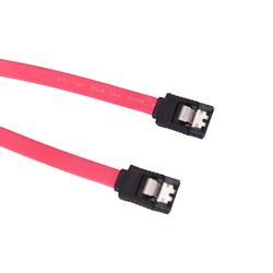 39cm Serial ATA SATA 3 RAID Data HDD Hard Drive Disk Signal Cables Yellow Red Straight High Speed SATA Data Cable 1PC