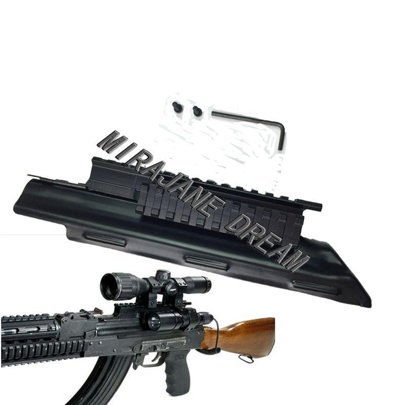 Taktische AK Receiver Triple Picatinny Weaver Schiene Top Mount System Abdeckung 47 74 AK Serie Tri-Schiene Jagd