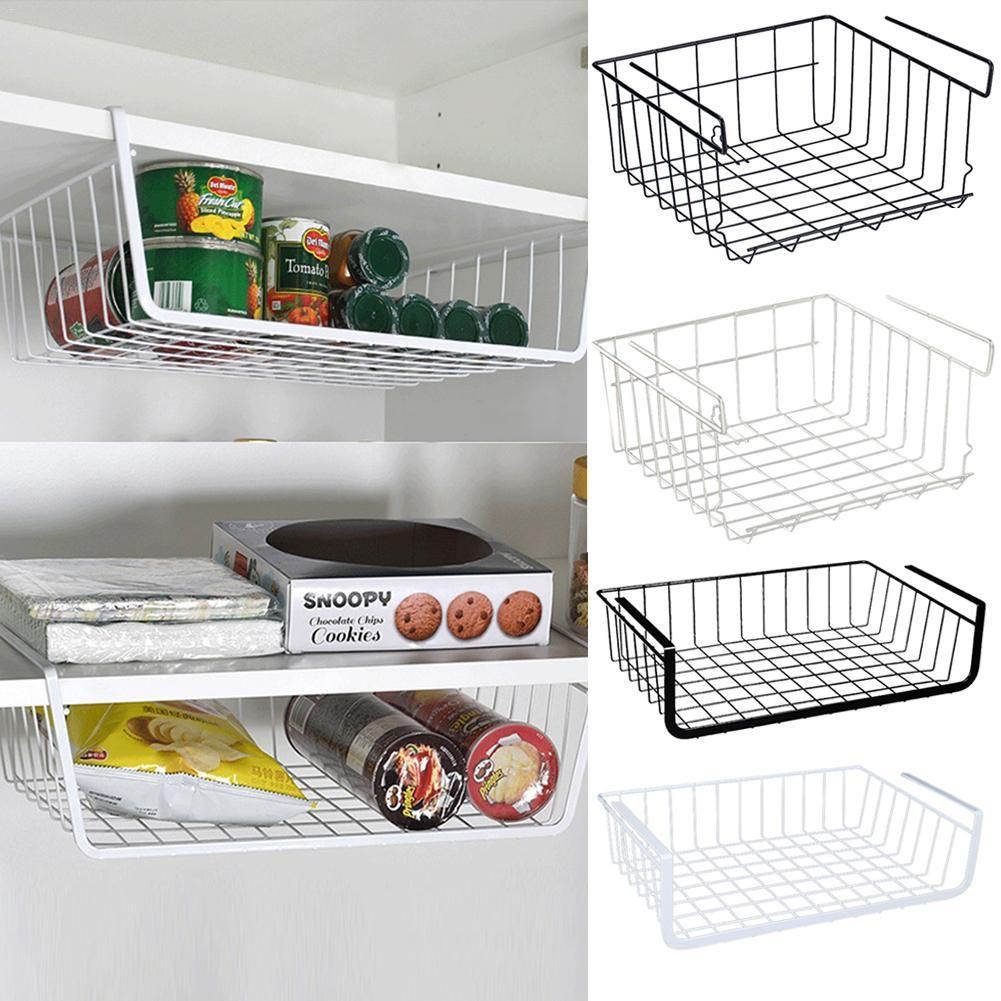 Panier de rangement maison cuisine multifonctionnel Rack de rangement sous meuble étagère de rangement panier fil Rack organisateur de stockage