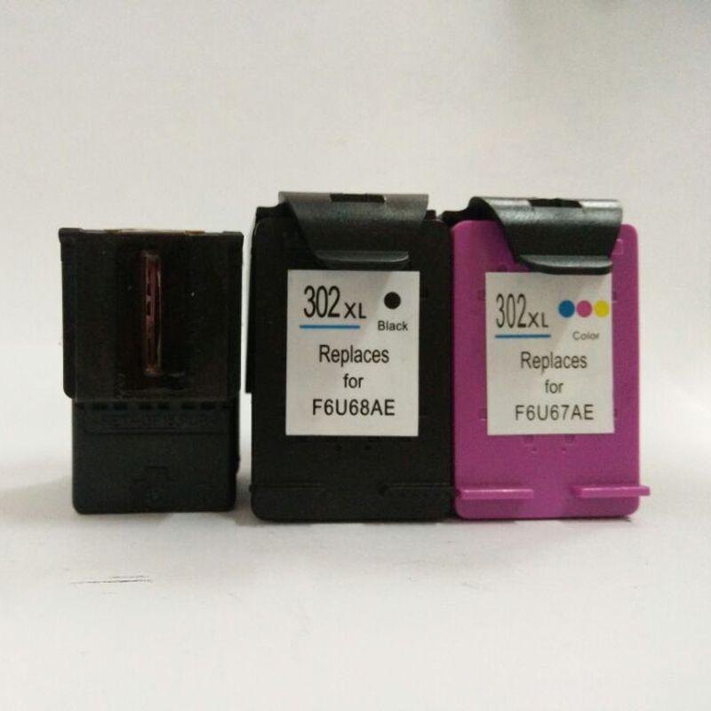3pcs For HP 302 Ink Cartridge For HP DeskJet 2130 2135 1110 2134 3635 3632 3630  Envy 4511 4520 OfficeJet 3830 4650 4654 4655