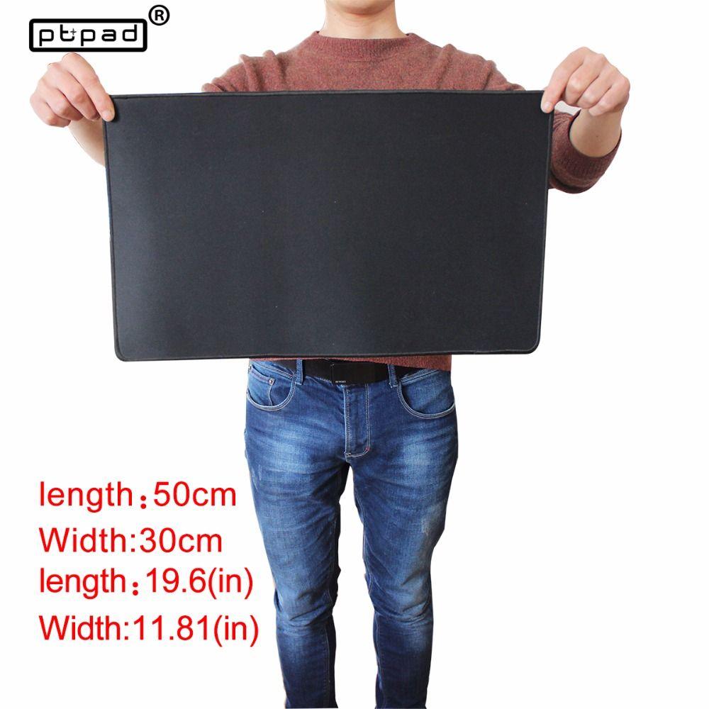 Pbpad store 50*30mm moyen grand tapis de souris de jeu noir verrouillage bord tapis de souris tapis de souris tapis de clavier tapis de Table pour Dota 2 CS Go