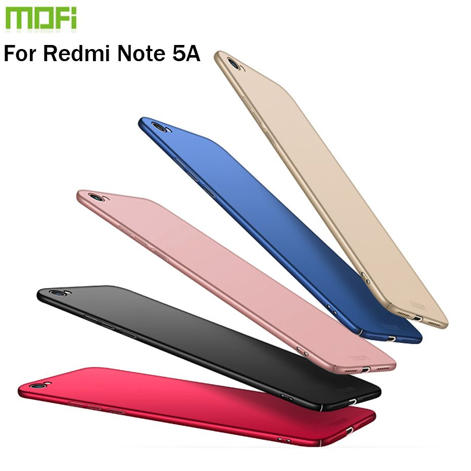 New 2017 For Xiaomi Redmi Note 5A Cover Case Original MOFI Hard Case For Xiaomi Redmi Note 5A Case Hight Quality Phone Shell