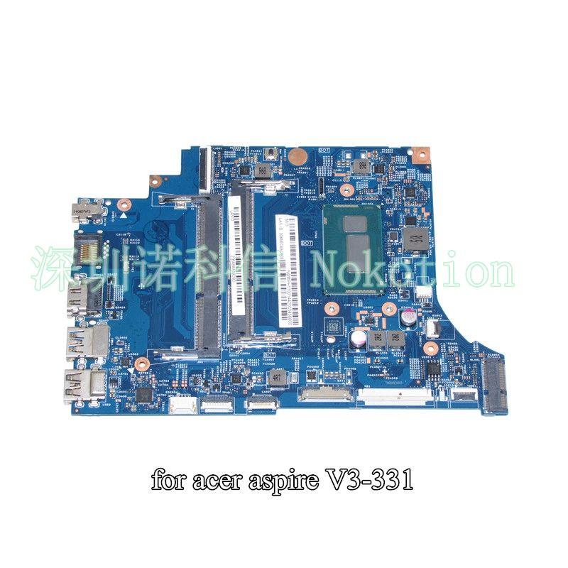 NOKOTION VA30-HB MB 13334-1 448.02B15.0011 For acer aspire V3-331 laptop motherboard NBMPH11001 NB.MPH11.001 SR1E3 Pentium 3556U