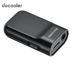 Docooler Bluetooth Audio Receiver Hands-free Car Kit 3.5mm Bluetooth Receiver for Audio Streaming Home/Car Audio System