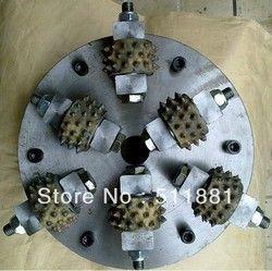 10 ''NCCTEC Буш молоток плиты | 250 мм сплав диск колеса для обработанный гранитный мрамор | 6 молоток бит