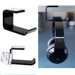 Durable Headphone Headset Holder Hanger Earphone Wall/Desk Display Stand Bracket Hanger Headphone Accessories #2