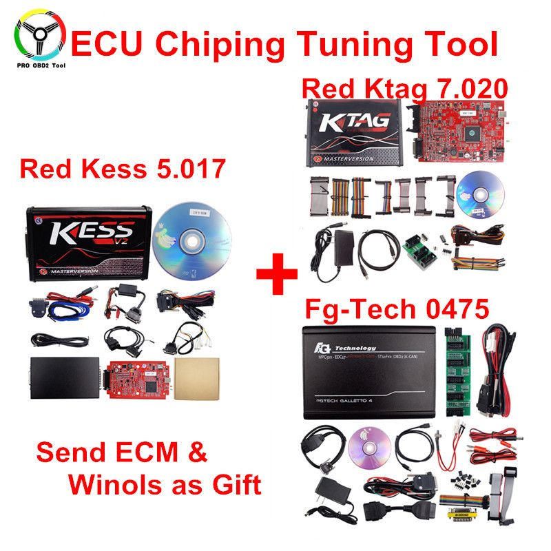 2018 Online KESS 5.017 ECU Programming Tool KTAG V7.020 With Unlimited Token Kess V2 V5.017 With ECM TITANIUM / WinOLS As Gift