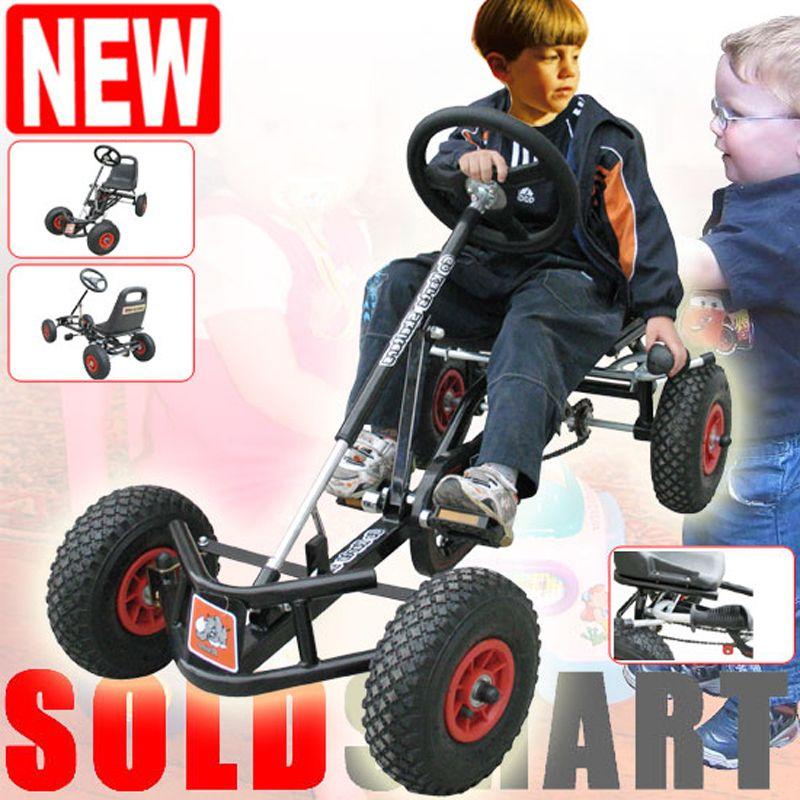 Children 12 inch air wheel Rubber Tyre pedal go karts