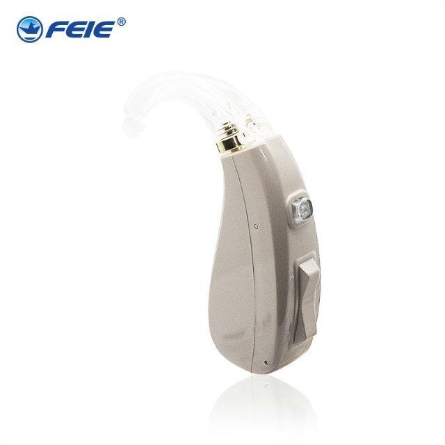 Newest High Quality BTE Digital Hearing Aid For Hearing Loss Mini Full Circuitry Hearing Aids Voice Amplifier MY-202
