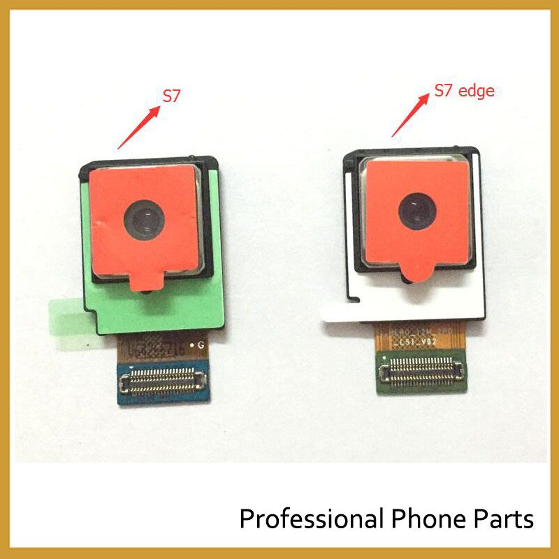 100% Original Rear Back Camera Module Flex Cable For Samsung Galaxy S7 G930 S7 Edge G935 Back Camera High Quality