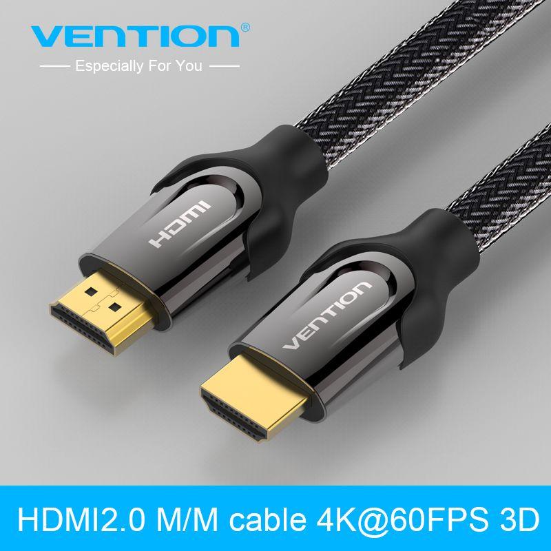 Tions HDMI Kabel 1 mt 2 mt 3 mt 5 mt Stecker-stecker Vergoldet HDMI 1,4 V 1080 P 3D für PS3 projektor HD LCD Apple TV computer kabel