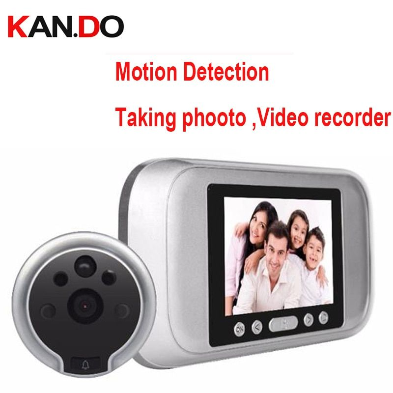 Take photo+Video Recorder+Motion Detection sensor 4.3