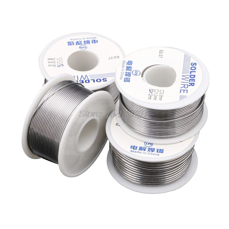 0.8/1.0/1.2/1.8mm 100g Tin Solder Wire Welding Wires for Electronic Soldering #S018Y# High Quality