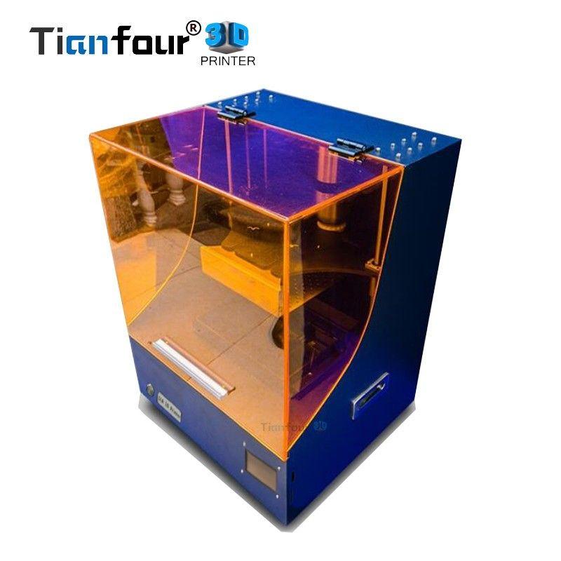 Tianfour neue Super KingKong SLA/DLP/LCD 3d drucker größte druck volumen 200*170*280mm hohe präzision Impresora 450nm UV harz