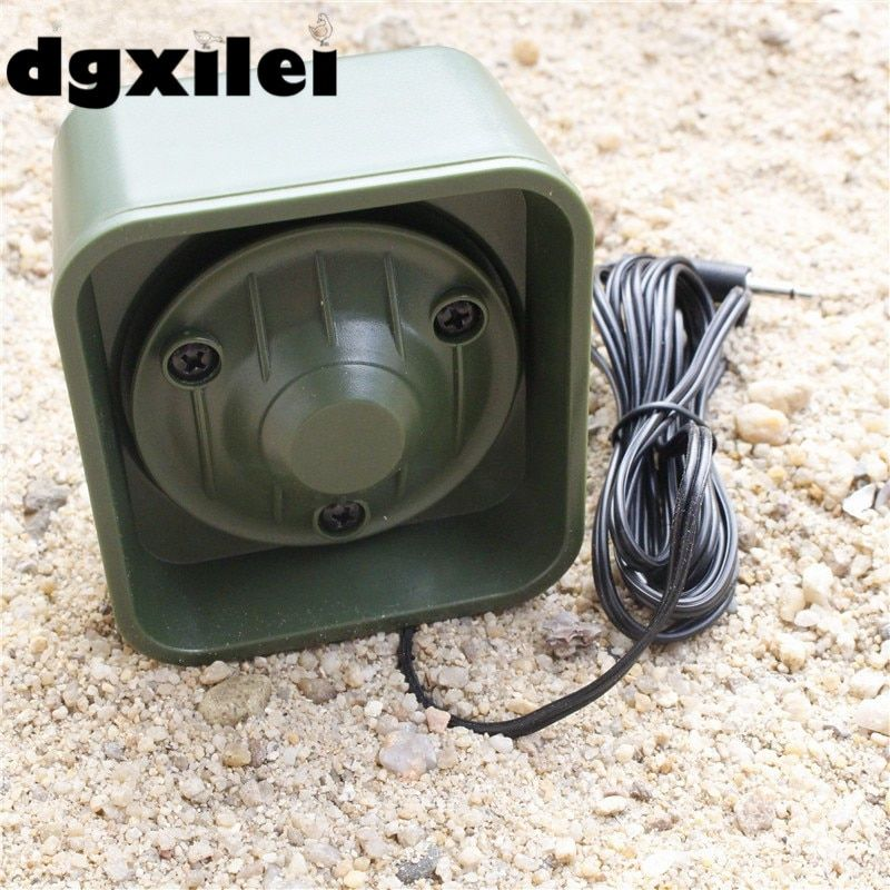 50W 150dB Speaker Goose Duck Bird Hunting Sound Mp3 Player Digital Hunting Bird Caller Hunting Decoy With 3.5 Audio Cable