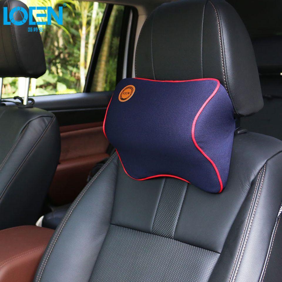 Confortable cou oreiller mémoire mousse repose-tête coussin de Massage appui-tête oreiller siège de voiture soutien pour 95% voitures Offfice chaise