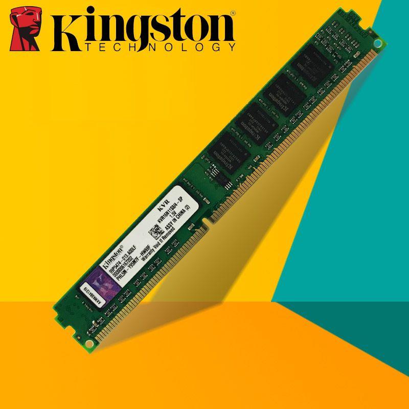 Kingston Desktop PC Memory RAM Memoria Module DDR2 800 667 MHz PC2 6400 16GB 8GB 4GB 2GB 1GB DDR3 1600 1333 MHz PC3-10600 12800