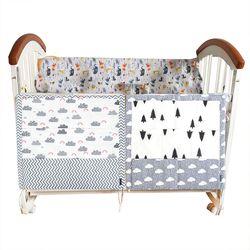 Kain Kasa Pohon Tempat Tidur Gantung Tas Penyimpanan Bayi Cot Bed Merek Bayi Kapas Biaya Tempat Organizer 60*50 Cm Mainan Popok saku untuk Tempat Tidur Bayi Set Tempat Tidur