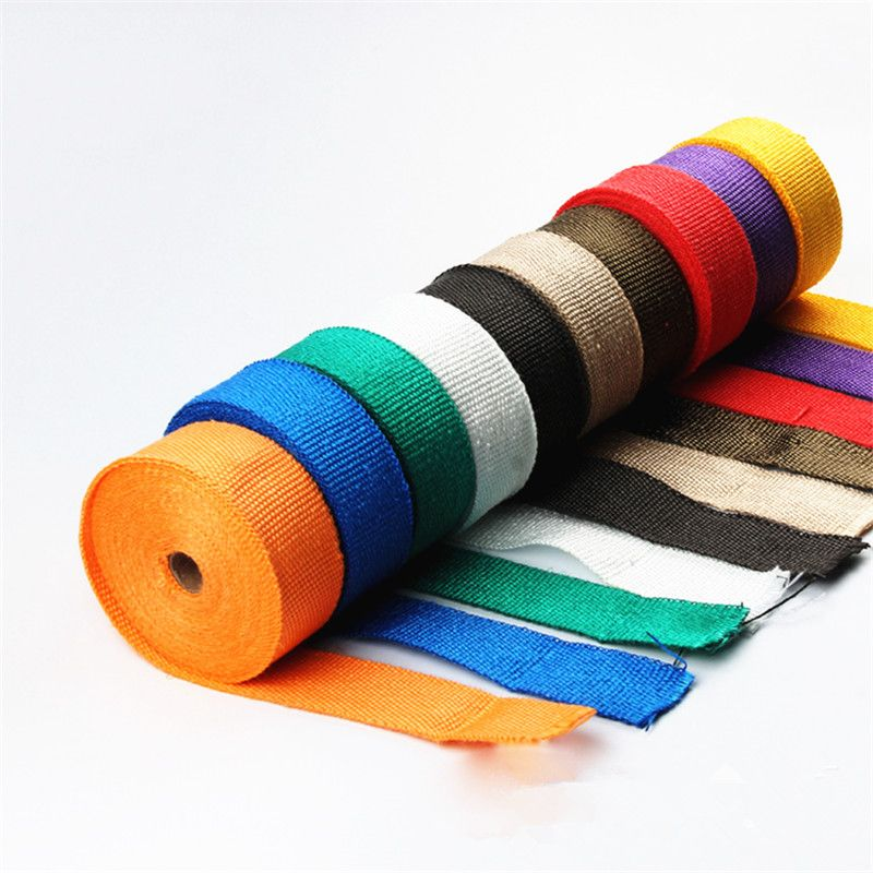 Motorcycle exhaust pipe insulation noise insulation hot head coke banana cloth high temperature insulation materials