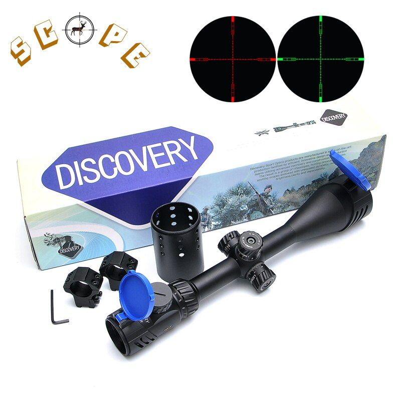 Discovery VT-2 4-16X50 SFIR Long Range Rifles Scope Airsoft Red And Green Illuminated Fiber Optic Sight Riflescope Hunting